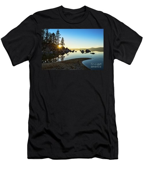 The Cove At Sand Harbor Men's T-Shirt (Athletic Fit)