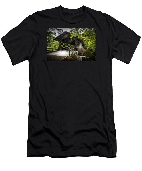 The Coverd Bridge Men's T-Shirt (Athletic Fit)