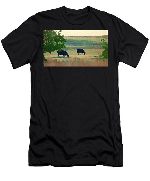The Cows Next Door Men's T-Shirt (Athletic Fit)