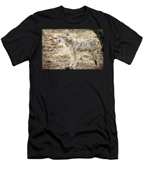 The Coyote Howl Men's T-Shirt (Athletic Fit)