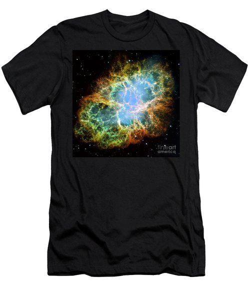The Crab Nebula Men's T-Shirt (Athletic Fit)