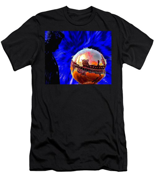 Humanity Calmly Watches The Extinction Men's T-Shirt (Athletic Fit)