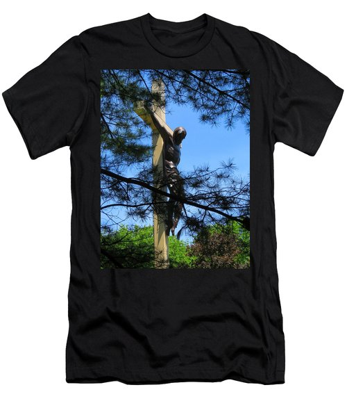 The Cross In The Woods Men's T-Shirt (Athletic Fit)