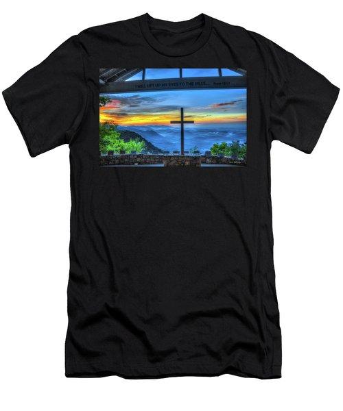 The Cross Sunrise At Pretty Place Chapel Men's T-Shirt (Athletic Fit)