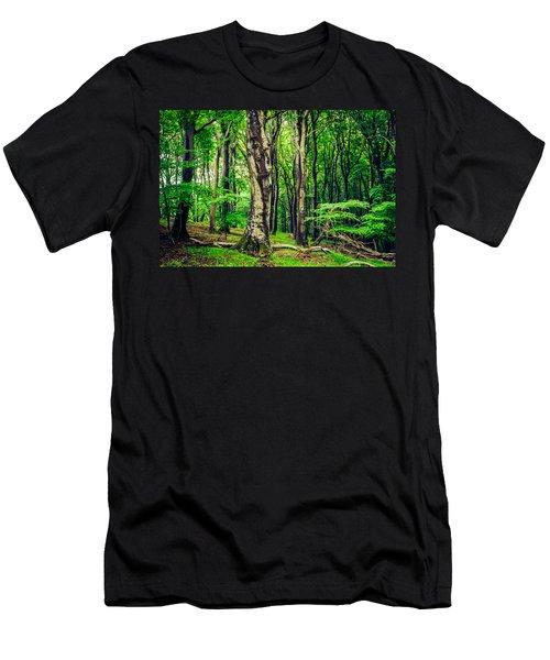 The Crowds Men's T-Shirt (Athletic Fit)