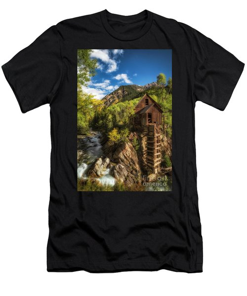 The Crystal Mill Men's T-Shirt (Athletic Fit)