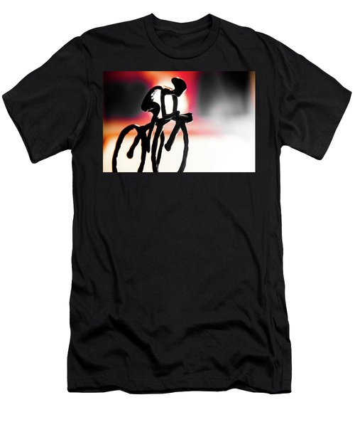 The Cycling Profile  Men's T-Shirt (Athletic Fit)