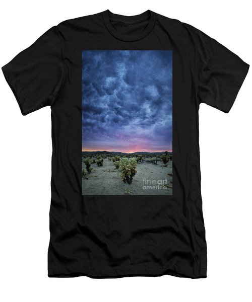 The Dark Sunset 2 Men's T-Shirt (Athletic Fit)