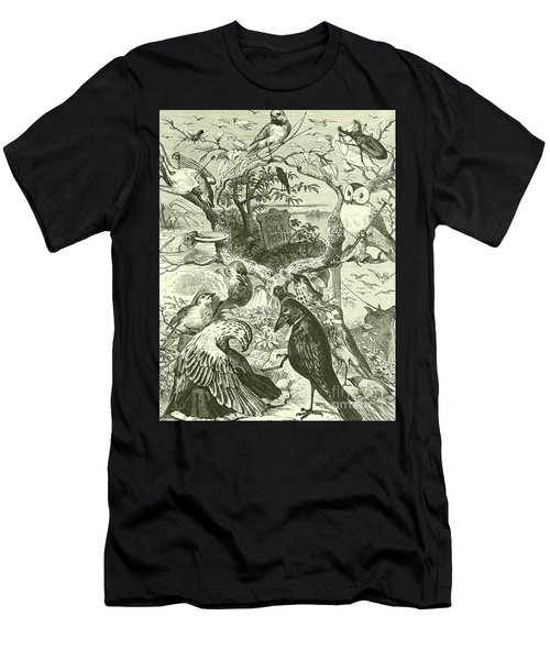 The Death And Burial Of Cock Robin Men's T-Shirt (Athletic Fit)