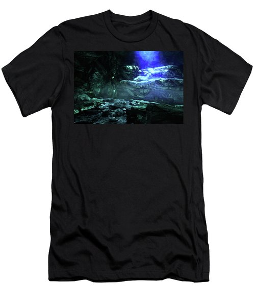 The Deepest Dark Cave Men's T-Shirt (Athletic Fit)