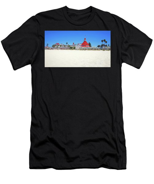 The Del Coronado Hotel San Diego California Men's T-Shirt (Athletic Fit)