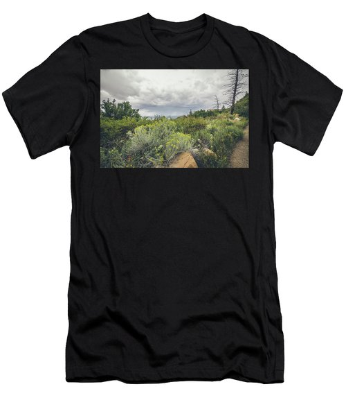 The Desert Comes Alive Men's T-Shirt (Athletic Fit)