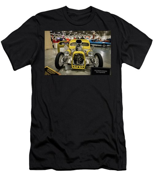 Men's T-Shirt (Slim Fit) featuring the photograph The Devils Beast by Randy Scherkenbach