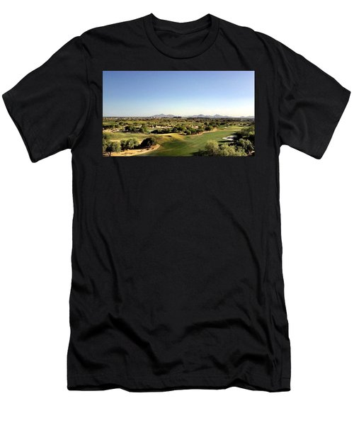The Distance Men's T-Shirt (Athletic Fit)
