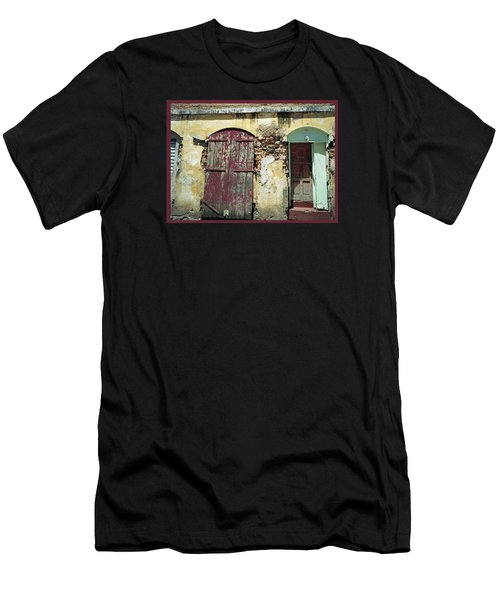 The Doors Of San Juan Men's T-Shirt (Athletic Fit)