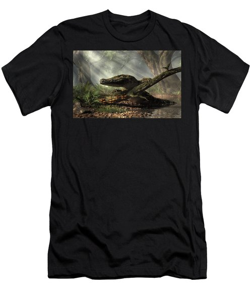 The Dragon Of Brno Men's T-Shirt (Athletic Fit)