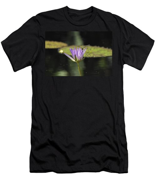The Dragonfly And The Lily Men's T-Shirt (Athletic Fit)
