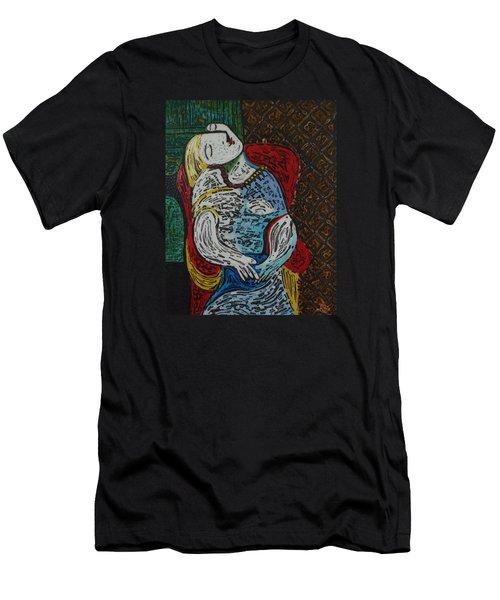 The Dream Walker -le Reve Zombi  Men's T-Shirt (Athletic Fit)
