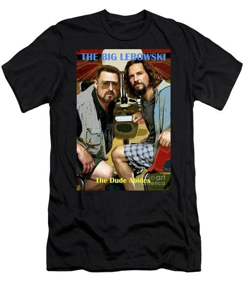 The Dude Abides, The Big Lebowski Men's T-Shirt (Athletic Fit)