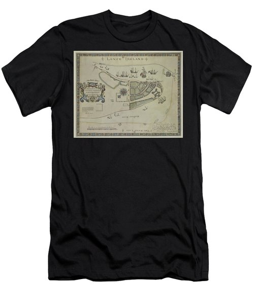 The Dukes Plan A Description Of The Town Of Mannados Or New Amsterdam 1664 Men's T-Shirt (Athletic Fit)