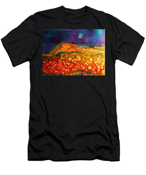 The Dunes At Night Men's T-Shirt (Athletic Fit)
