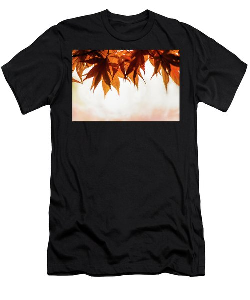 Men's T-Shirt (Athletic Fit) featuring the photograph The Eaves Of Season by Gene Garnace