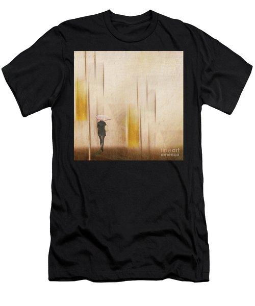 The Edge Of Autumn Men's T-Shirt (Athletic Fit)