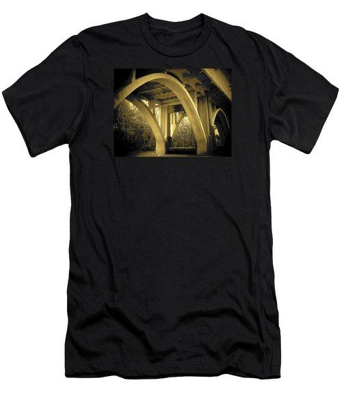 The Edmund Pettus Bridge I Men's T-Shirt (Athletic Fit)