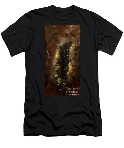 The Elements Earth #1 Men's T-Shirt (Athletic Fit)