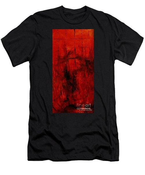The Elements Fire #3 Men's T-Shirt (Athletic Fit)