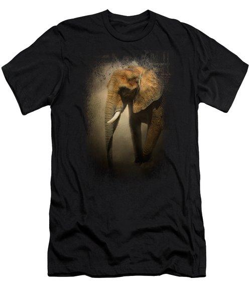 The Elephant Emerges Men's T-Shirt (Slim Fit) by Jai Johnson