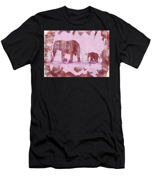 The Elephant March Men's T-Shirt (Athletic Fit)