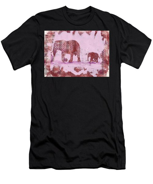 The Elephant March Men's T-Shirt (Athletic Fit)