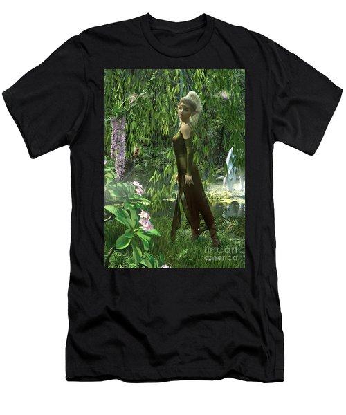 The Elven Realm Men's T-Shirt (Athletic Fit)