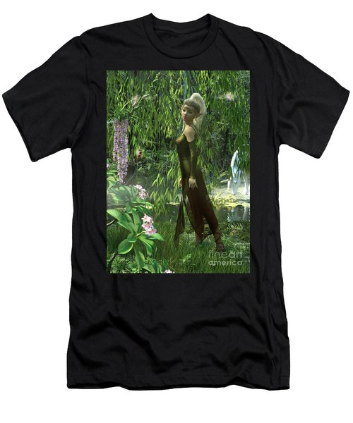 The Elven Realm Men's T-Shirt (Athletic Fit)