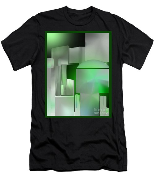 The Emerald City Men's T-Shirt (Slim Fit) by John Krakora