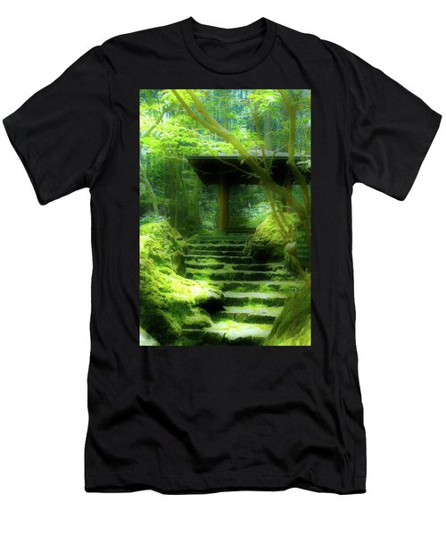 The Emerald Stairs Men's T-Shirt (Athletic Fit)