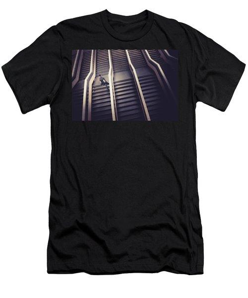 The Empty Train Men's T-Shirt (Athletic Fit)
