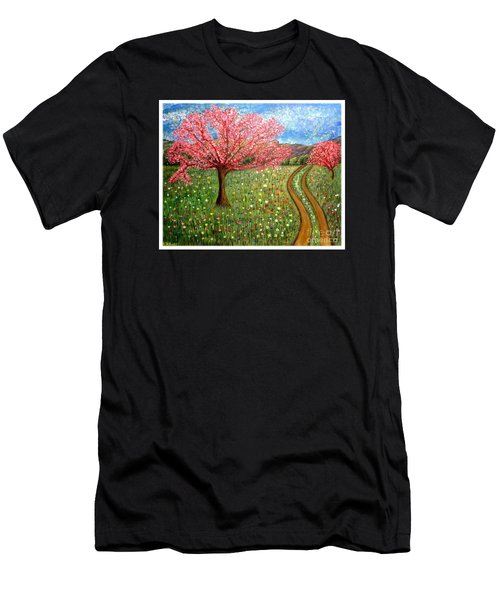 The Enchanted Fairy Garden Meadow Men's T-Shirt (Athletic Fit)