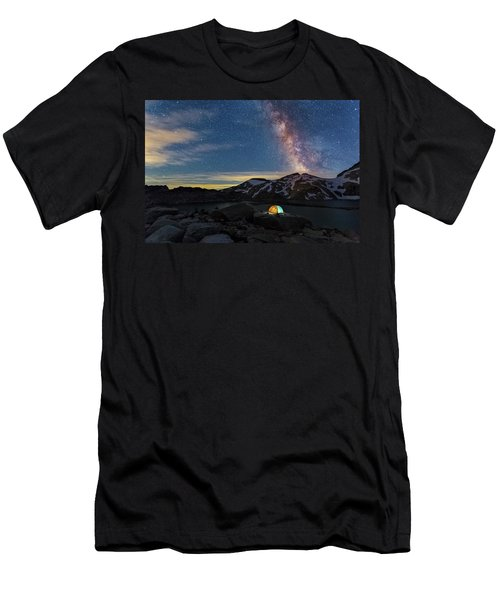 Mountain Trekking Men's T-Shirt (Athletic Fit)