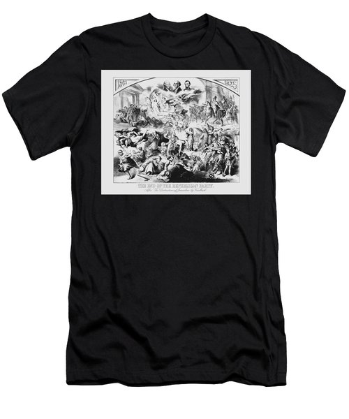 The End Of The Republican Party Men's T-Shirt (Athletic Fit)