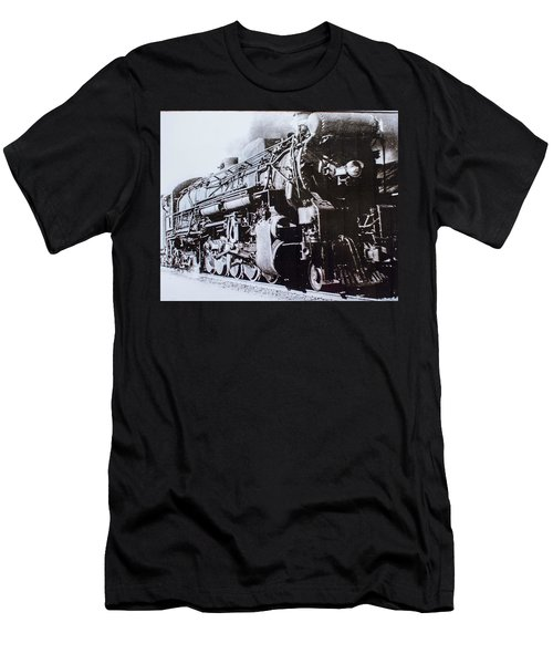Men's T-Shirt (Athletic Fit) featuring the photograph The Engine  by Jeanne May