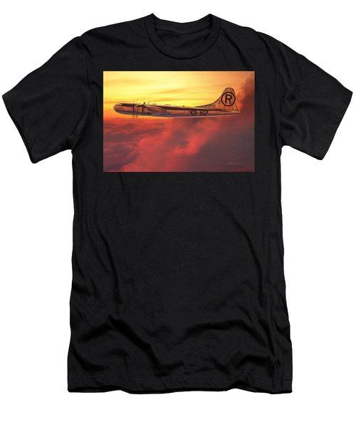 Enola Gay B-29 Superfortress Men's T-Shirt (Slim Fit) by David Collins