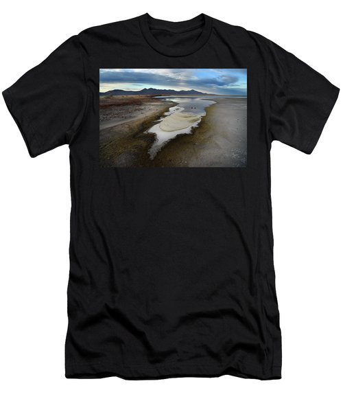 The Evaporating Water Of The Great Salt Lake 3 Men's T-Shirt (Athletic Fit)