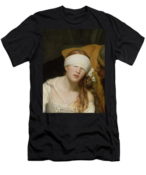 The Execution Of Lady Jane Grey Men's T-Shirt (Slim Fit) by Hippolyte Delaroche