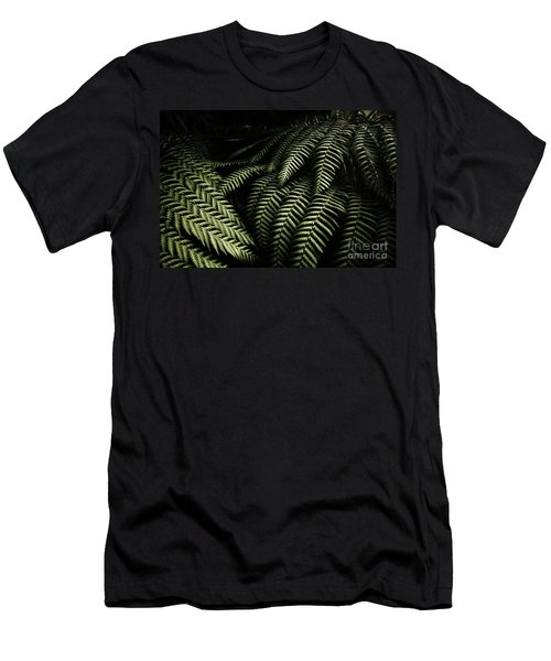 The Exotic Dark Jungle Men's T-Shirt (Athletic Fit)
