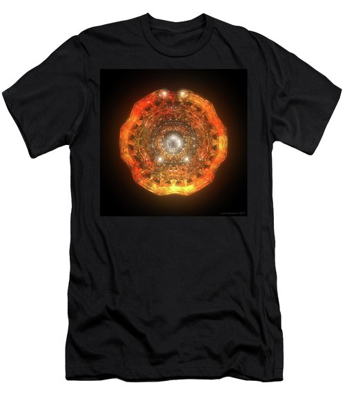 The Eye Of Cyma - Fire And Ice - Frame 160 Men's T-Shirt (Athletic Fit)