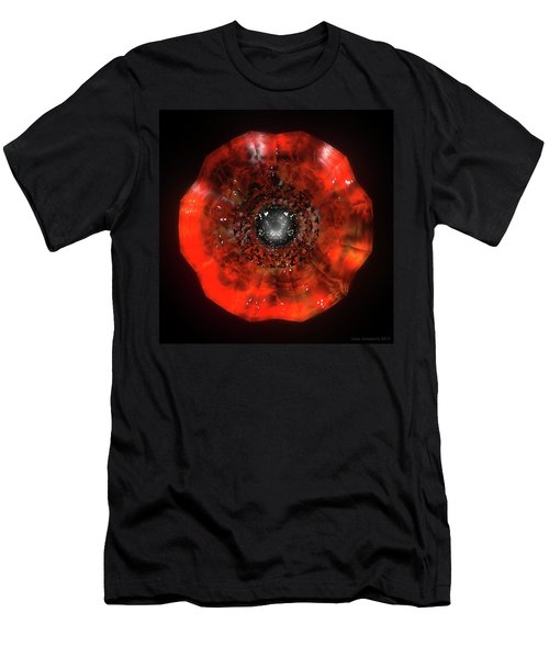 The Eye Of Cyma - Fire And Ice - Frame 40 Men's T-Shirt (Athletic Fit)