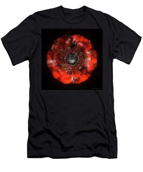 The Eye Of Cyma - Fire And Ice - Frame 45 Men's T-Shirt (Athletic Fit)