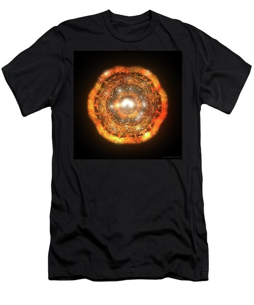 The Eye Of Cyma - Fire And Ice - Frame 7 Men's T-Shirt (Athletic Fit)